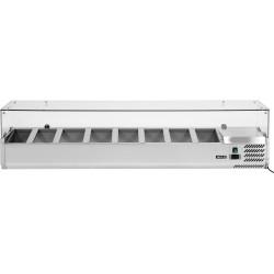 Vitrininė šaldymo spinta YG-05323, 33,5x180x43,5 cm