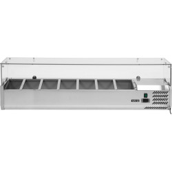 Vitrininė šaldymo spinta YG-05322, 33,5x150x43,5 cm