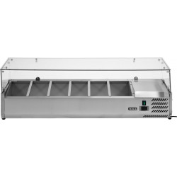 Vitrininė šaldymo spinta YG-05330, 39,5x140x43,5 cm