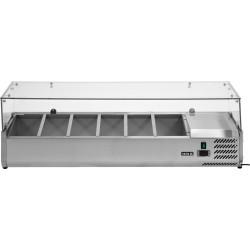 Vitrininė šaldymo spinta YG-05321, 33,5x140x43,5 cm