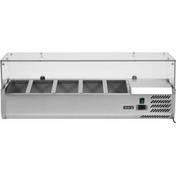 Vitrininė šaldymo spinta YG-05320, 33,5x120x43,5 cm