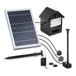 Saulės energija varomas tvenkinio siurblys - 250 l/h UNI_PUMP_12