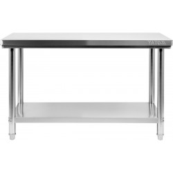 Nerūdijančio plieno stalas Yato 60x150x85 cm
