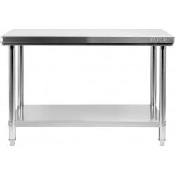 Nerūdijančio plieno stalas Yato 70x140x85 cm
