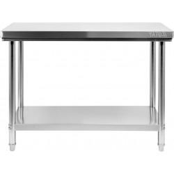 Nerūdijančio plieno stalas Yato 60x100x85 cm