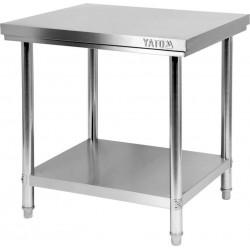 Nerūdijančio plieno stalas Yato 80x70x85 cm