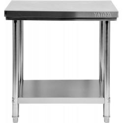 Nerūdijančio plieno stalas Yato 60x80x85 cm