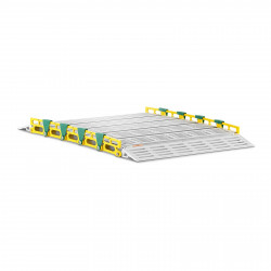 Aliuminio rampa - nešiojama - 500 kg - 1050x762 mm MSW-ARL-02
