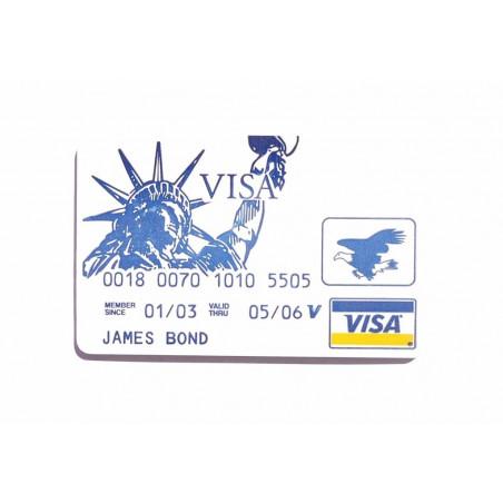 Visrakčių rinkinys slaptoje kredito kortelėje