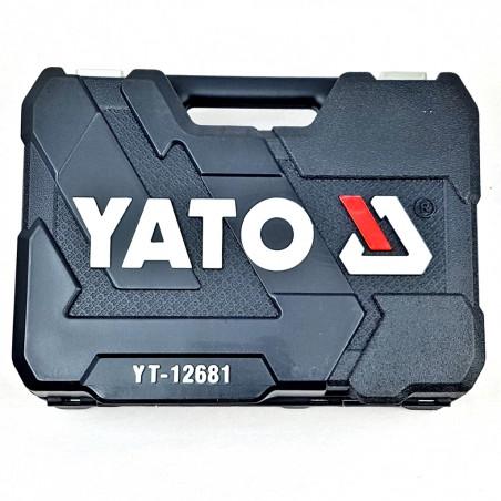 Įrankių galvučių komplektas YATO 94 dalių