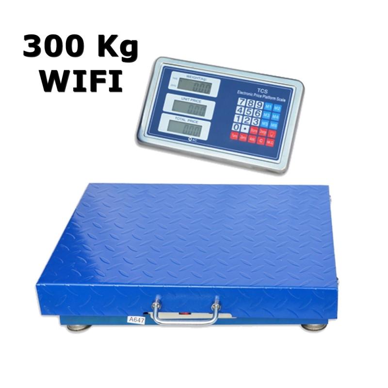 Bevielės platforminės svarstyklės 3001W sveriančios iki  300Kg