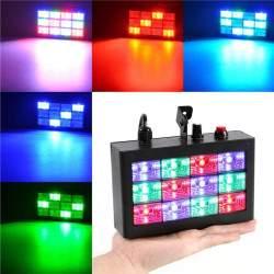 LED Stroboskopas | LED Spalvotas Kambario Stroboskopas