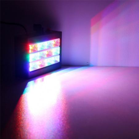 LED Stroboskopas   LED Spalvotas Kambario Stroboskopas