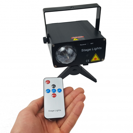 Šviesos efektų lazeris STAR 1