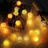 Medvilninių burbulų girliandos
