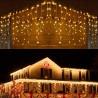 Varvekliai | LED Girliandos varvekliai | Girliandos varveklis, lietutis