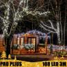 PRO PLIUS CL8 LED lauko girliandos Varvekliai