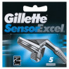 Gillette Sensor peiliukai