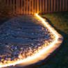 LED Girliandos vamzdelyje Ropes