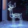 LED 3D šviečiantys elniai