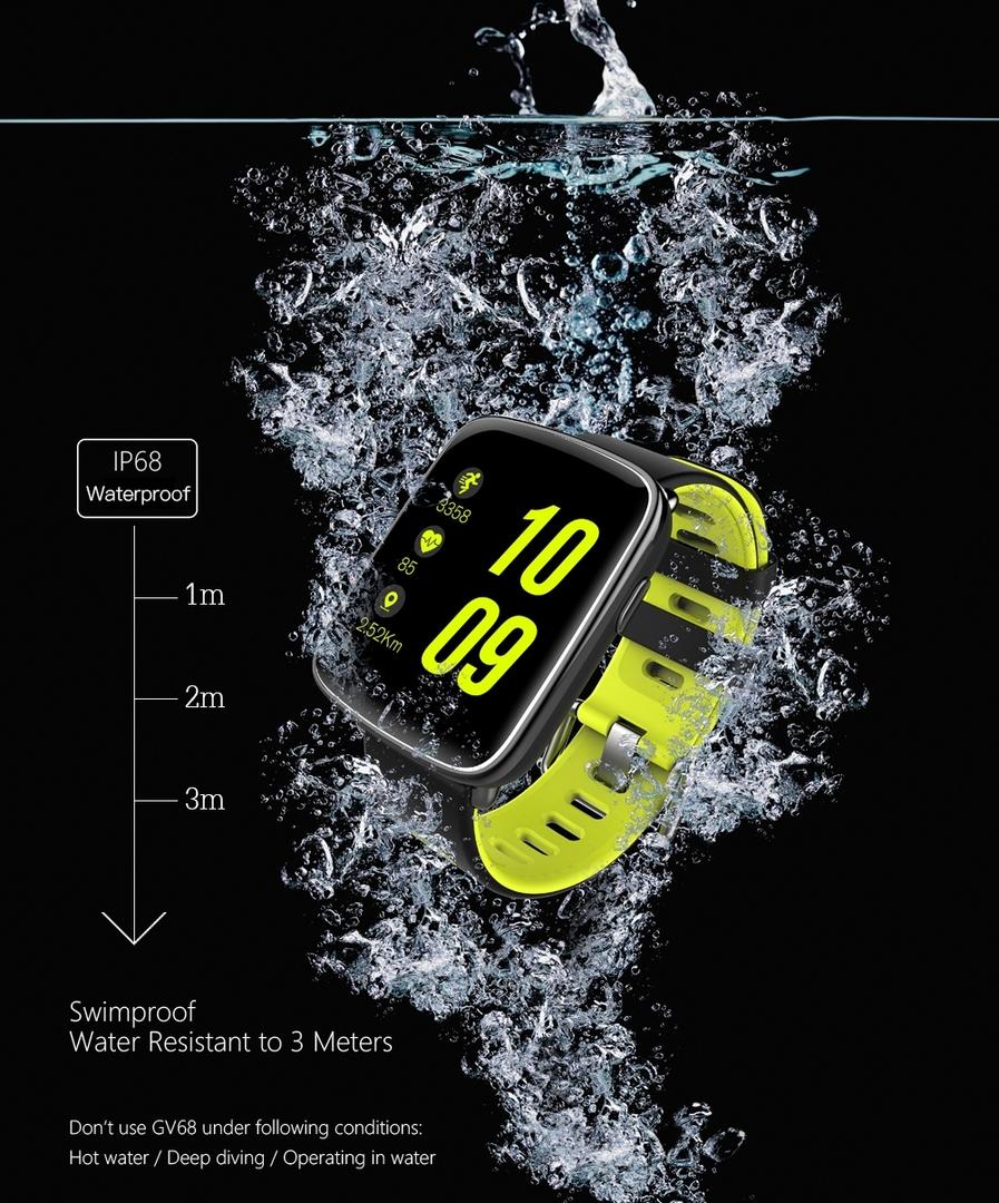Išmanusis laikrodis H3 su pulso matuokliu